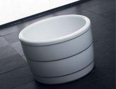 Purescape 034 round freestanding bathtub 1000 dia
