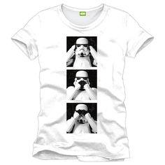 Tričko Star Wars - Tři moudří Stormtroopeři