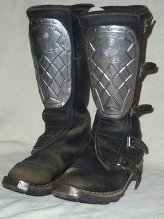 Vintage Hi-Pointe boots from Italy. Made in the 80's. No longer available (in this form).