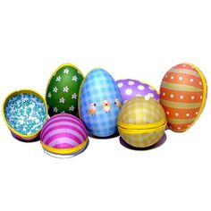 For Easter Eggs without the chocolate, get our decorated eggs and fill them with whatever you like! http://www.lawsonshop.co.uk/special-offers/easter/decorated-easter-egg.html