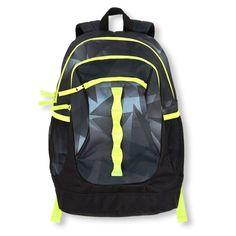 Boys Boys Geometric Backpack - Black - The Children s Place Black Backpack 9d046452c4a7c
