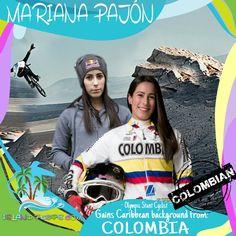 @MarianaPajon #Olympic Pro #BMX Racer born in #Colombia #MarianaPajon #islandpeeps
