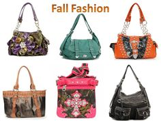 http://www.handbagsblingmore.com/ Fun Fall Fashions! In Stock: $45