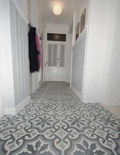 Wall Photos uploaded by Ana Martins on We Heart It Floor Rugs, Tile Floor, Floor Ceiling, Best Flooring, Tile Patterns, Photo Wall, Inspiration, Interior Design, House Ideas