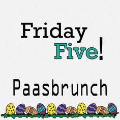 De afgelopen maand heb ik een aantal recepten op mijn blog geplaatst die zeker niet misstaan bij een paasbrunch. In deze Friday Five geef ik je mijn tips voor de paasbrunch, kijk snel mee!