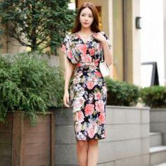 Korean Fashion Online Store 韓流 Trends Luxe Asian Women 韓国 Style Shop korean clothing Shangri-La Dress
