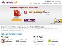 Andolasoft agency: Mobile related services: Mobile App Development, Mobile Website Design, Mobile Strategy Consulting, Responsive Web Design