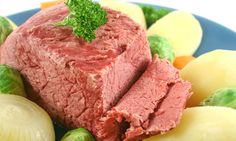 Corned Beef and Cabbage. This staple of traditional Irish cuisine is a delicious St. Patty's Day treat. It's easy to make and even more enjoyable to eat!