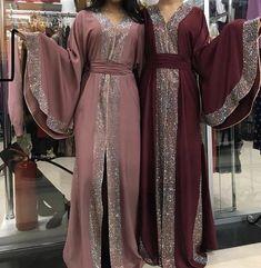 abaya fashion Made in dubai abaya stone sunshine # # Arab Fashion, Muslim Fashion, Modest Fashion, Fashion Outfits, Fashion Ideas, Abaya Mode, Mode Hijab, Muslim Dress, Hijab Dress