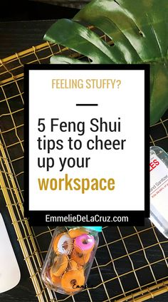 feng shui for the office   office decor tips   staying healthy in the office and at work https://www.emmeliedelacruz.com/blog/office-feng-shui-staples?utm_campaign=coschedule&utm_source=pinterest&utm_medium=The%20Branding%20Muse%20%28Branding%2C%20Career%20%2B%20Social%20Media%29&utm_content=5%20Tips%20to%20Cheer%20Up%20Your%20Sad%20Workspace%20This%20Winter