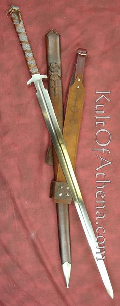 Zombie Hunter Longsword www.kultofathena.com - Rgrips.com Gotta say, I really like this blade