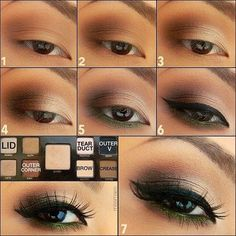 Makeup Tutorial for Small Brown Eyes:
