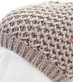 51 Ideas Crochet Hat With Brim Pattern Yarns Crochet Hat With Brim, Knitted Hats, Stitch Patterns, Knitting Patterns, Crochet Patterns, Knitting Stiches, Crochet Stitches, Crochet Baby, Knit Crochet