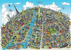 Paris Looking West by Hartwig Braun