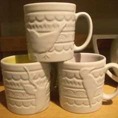 Sweet mugs! print & pattern