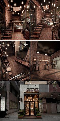 [No.23 카페드리치] 빈티지 벽돌 복층 카페 인테리어 9평