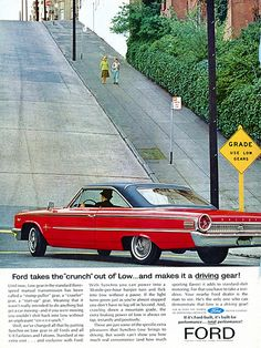 1963 Ford Advertising Road & Track July 1963 | Flickr - Photo Sharing!