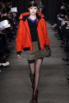 YES!  Gotta love a statement jacket.  Makes me want to skip over S/S and right back into F/W!  JK!! @rag_bone