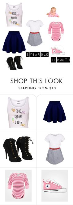 """""""Me and My nieces outfits for b-day part"""" by anoai ❤ liked on Polyvore featuring Giuseppe Zanotti, Ebbe, Geggamoja and Converse"""