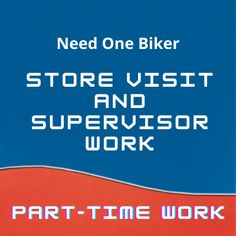Need one biker for Saturday & Sunday activity for the work profile of Store visit and Supervisor work. The post Store visit & Supervisor work: Biker required appeared first on Jobs and Auditions.