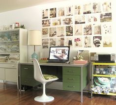 たくさんの額や写真でおしゃれにインテリアを飾るアイデア集50の画像   賃貸マンションで海外インテリア風を目指すDIY・ハンドメイドブログ<p…