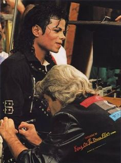 Michael Jackson: I warning you Fred, stick me with that thing just one more time...