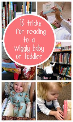 Useful tips for making reading fun (instead of frustrating) with little ones who just want to rip or eat the pages.