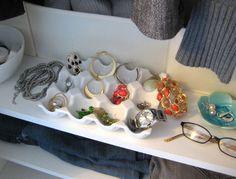 egg crate jewelry storage