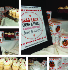 Custom Cupcake Boxes Designed to Match Your Wedding!