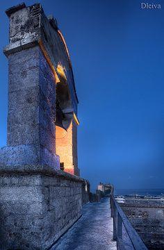 Amanecer en la Alcazaba. Almería. Spain   por Domingo Leiva