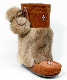 Another great find on #zulily! Copper Mid Classic Suede & Fur Boot by Manitobah Mukluks #zulilyfinds