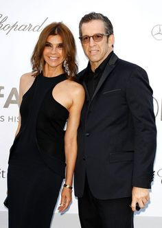 Carine Roitfeld and amfAR Chairman Kenneth Cole arrive at the 2012 amfAR's Cinema Against AIDS during the 65th Annual Cannes Film Festival at Hotel Du Cap on May 24, 2012 in Cap D'Antibes, France.