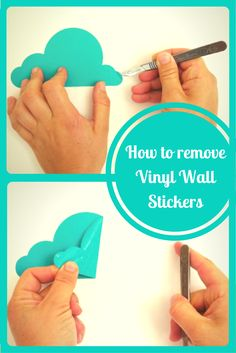 Tips on how to remove vinyl wall stckers