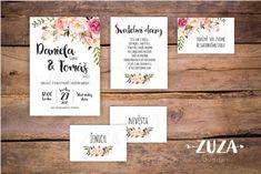 Svatební oznámení no.23 / Zboží prodejce zuzanablindu | Fler.cz Dream Wedding, Wedding Day, Place Cards, Place Card Holders, Frame, Design, Weddings, Pi Day Wedding, Wedding
