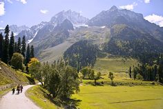 Way to Glacier, Sonmarg -- Kashmir, India