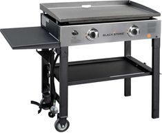 Blackstone Griddle Cooking Station - New Ideas Small Grill, Flat Top Grill, Hibachi Grill For Home, Gas Grill Reviews, Blackstone Grill, Best Gas Grills, Propane Gas Grill, Gas Bbq, Stainless Steel Tubing