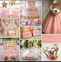 Pink wedding ideas.