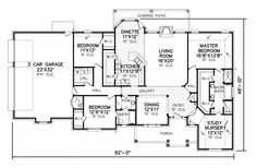 The 616 best USA House Plans images on Pinterest | Dream house plans House Plans With Nursery Attached To Master on
