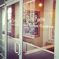 Workout experience at Local Barre #Hoboken #LocalBarre #fitness #exercise #workout