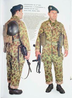 Legionnaire 2° REP Indochina uniform, pin by Paolo Marzioli