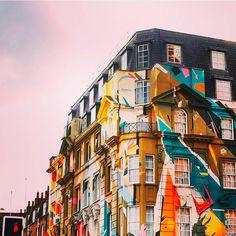 通勤途中に見られるアート何とも贅沢な光景  #ショーデイッチ #ストリートアート #ロンドン #アート落書きアート #壁アート #スタイル  #orcacollective
