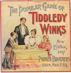 """The """"New"""" 1897 edition of Tiddledy Winks"""