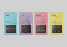 Packaging designed by Mucho for sports shower range Fisix Beauty Packaging, Brand Packaging, Packaging Design, Branding Design, Cosmetic Packaging, Corporate Design, Logo Branding, Gel Frio, Sports Gel