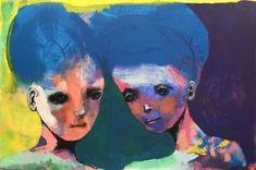"""Maleri av Kari Anne Marstein """"Varighet"""", 150x100 maleri"""