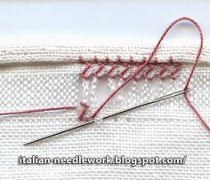 A reader very kindly reminded me that I had never posted the second part of this post  on finishing a hem with Gigliuccio hemstitching  (Pe...