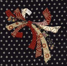 Julia's Place: Japanese Quilt Block# 2......Noshi