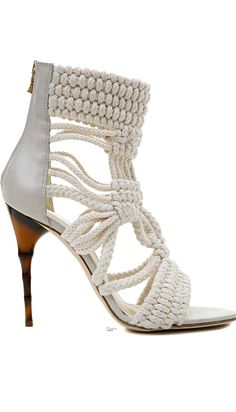Balmain ● Fall 2014 #shoes #omg #heels #beautyinthebag