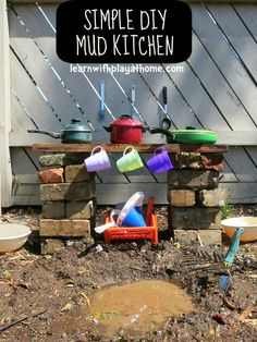 Mach Kinder super glücklich mit diesen 13 Sand/Schlammküchen - Seite 3 von 13 - DIY Bastelideen