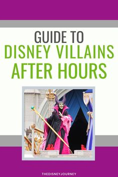 Disney released information about the new Disney Villains After Hours event coming to Magic Kingdom this summer. Disney World Vacation Planning, Disney Vacation Club, Disney Planning, Disney World Resorts, Disney Vacations, Trip Planning, Disney Secrets, Disney World Tips And Tricks, Disney Tips