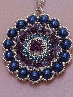 Ciondolo Blue Pearls